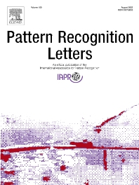 Cover image for Pattern Recognition Letters