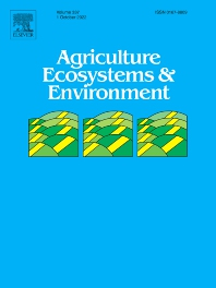 Cover image for Agriculture, Ecosystems & Environment