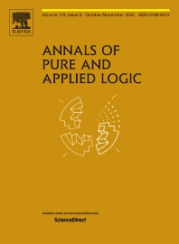 Annals of Pure and Applied Logic - ISSN 0168-0072
