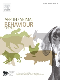 Applied Animal Behaviour Science - ISSN 0168-1591