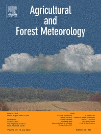 Agricultural and Forest Meteorology - ISSN 0168-1923