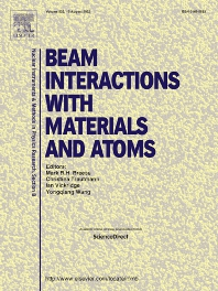 Cover image for Nuclear Instruments and Methods in Physics Research Section B: Beam Interactions with Materials and Atoms