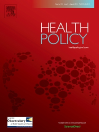 Health Policy - ISSN 0168-8510