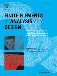 Cover image for Finite Elements in Analysis and Design