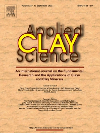 cover of Applied Clay Science