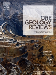 Cover image for Ore Geology Reviews