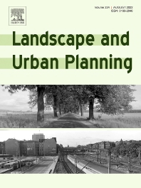 Cover image for Landscape and Urban Planning