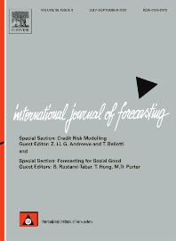 Cover image for International Journal of Forecasting