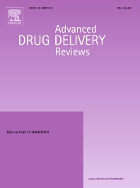 cover of Advanced Drug Delivery Reviews