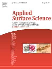 Cover image for Applied Surface Science