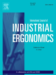 Cover image for International Journal of Industrial Ergonomics