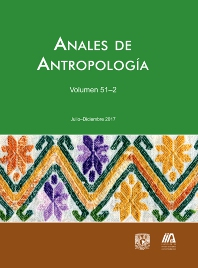 Cover image for Anales de Antropología
