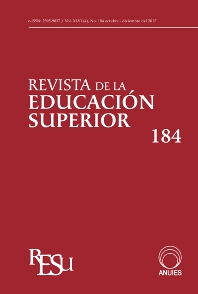 cover of Revista de la Educación Superior