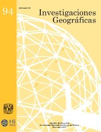Cover image for Investigaciones Geográficas