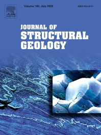 Cover image for Journal of Structural Geology