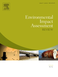 Cover image for Environmental Impact Assessment Review