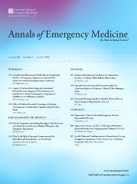 Annals of Emergency Medicine - Journal - Elsevier