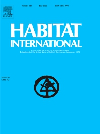 Cover image for Habitat International