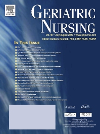 Geriatric Nursing - ISSN 0197-4572