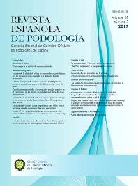 Cover image for Revista Española de Podología