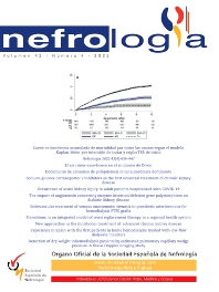 Cover image for Nefrología