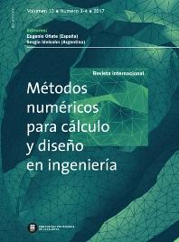 Cover image for Revista Internacional de Métodos Numéricos para Cálculo y Diseño en Ingeniería