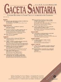 Cover image for Gaceta Sanitaria