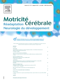 Cover image for Motricité Cérébrale