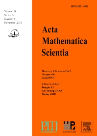 Acta Mathematica Scientia - ISSN 0252-9602