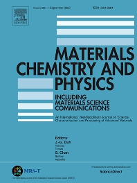 Cover image for Materials Chemistry and Physics