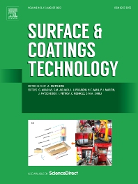 Cover image for Surface and Coatings Technology