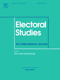 Cover image for Electoral Studies