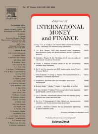 Cover image for Journal of International Money and Finance
