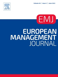 Cover image for European Management Journal