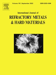 Cover image for International Journal of Refractory Metals and Hard Materials