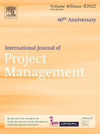 Cover image for International Journal of Project Management
