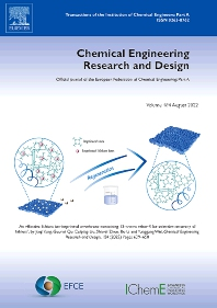 Chemical Engineering Research and Design - ISSN 0263-8762