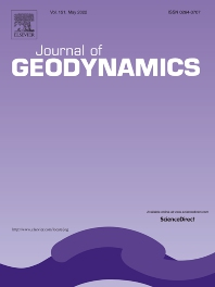 Cover image for Journal of Geodynamics