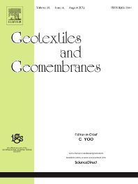 Cover image for Geotextiles and Geomembranes