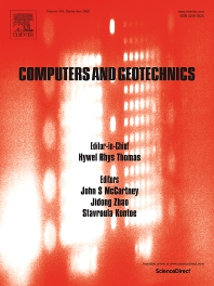 Cover image for Computers and Geotechnics