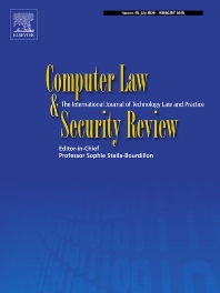 Computer Law & Security Review - ISSN 0267-3649