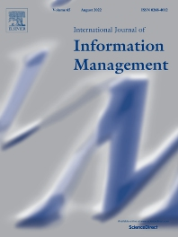 cover of International Journal of Information Management