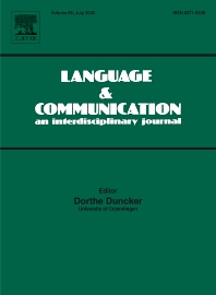 Cover image for Language & Communication