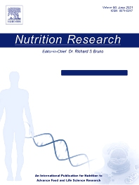 Nutrition Research - ISSN 0271-5317