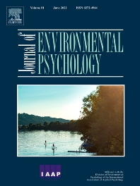 Journal of Environmental Psychology - ISSN 0272-4944