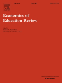 Economics Of Education Review Journal Elsevier