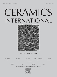 Cover image for Ceramics International