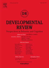 Developmental Review - ISSN 0273-2297