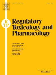 Regulatory Toxicology and Pharmacology - ISSN 0273-2300