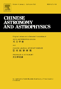 Cover image for Chinese Astronomy and Astrophysics